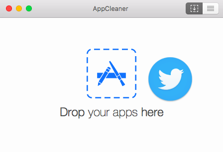 アプリケーションをドラッグ&ドロップ