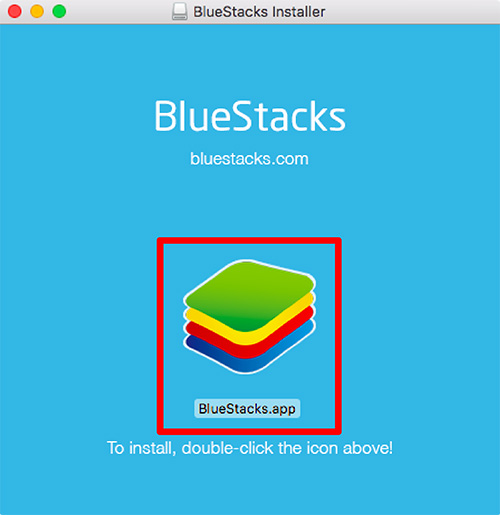 BlueStacksインストーラー
