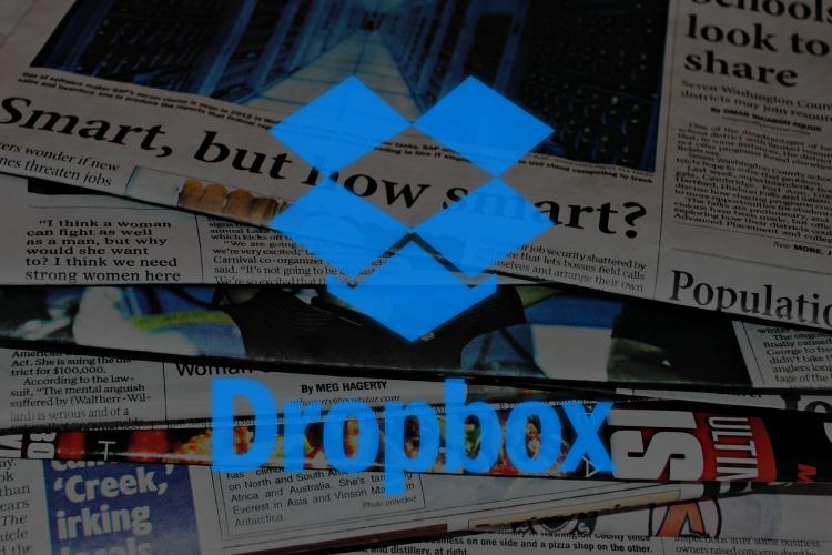 ドロップボックスのアカウント情報流出ニュース