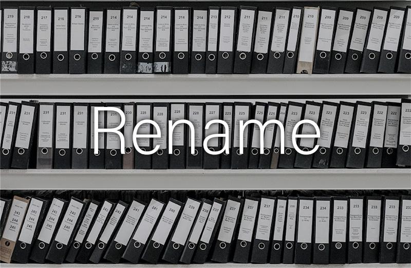 Macで複数のファイル名をまとめて一括変更(リネーム)する方法