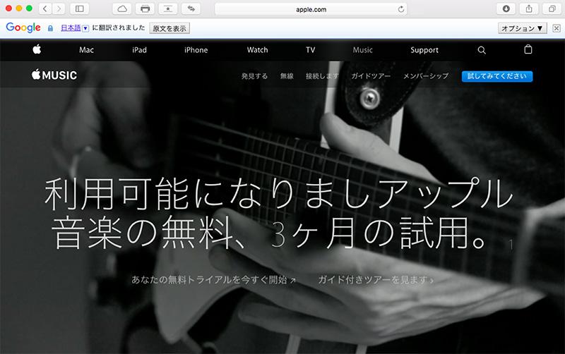 Website翻訳後