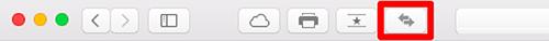 Safariメニューバーの翻訳ボタン